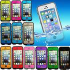 Waterproof Shockproof Fingerprint Scanner Full Case Cover for  Iphone 5 5S SE 4S