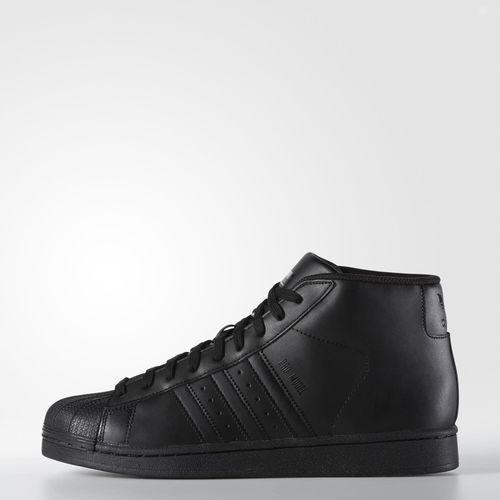 s85957 männer adidas kern originals pro model schuh!! kern adidas schwarz / schwarz / schwarz core core 27964a