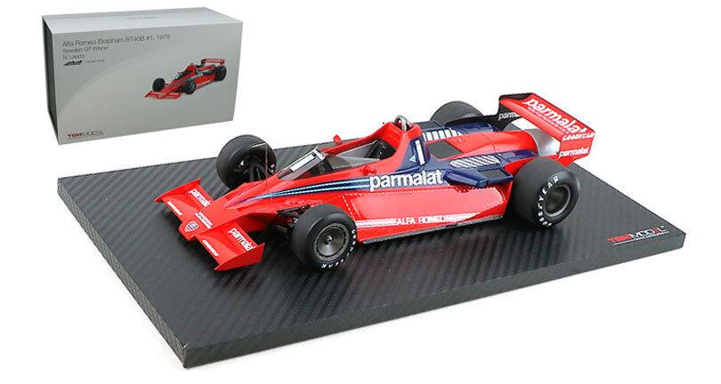 Truescale Miniatures Brabham BT46B Fan Car Winner Sweden 1978 - Niki Lauda 1 18