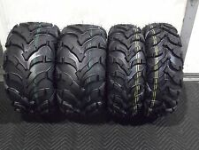 HONDA RECON 250 ATV TIRES ( FULL SET 4 TIRES )  22x7-11  22x10-9  QUADKING 6 PLY