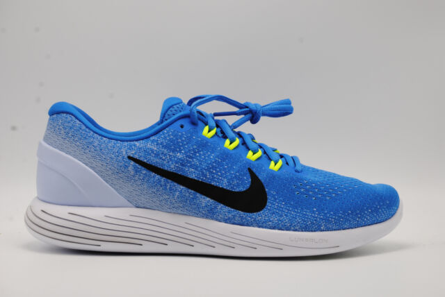 4731f537344c Nike Lunarglide 9 Mens 904715-401 Italy Hydrogen Blue Running Shoes ...