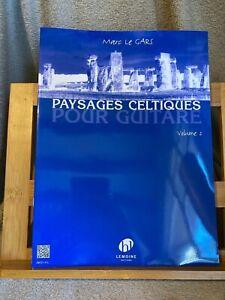 Marc Le Gars Paysages celtiques pour guitare volume 2 partition éditions Lemoine