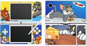 NDSi-Nintendo-DSi-TOM-Y-JERRY-4-piezas-Pegatina-Piel-VINILO