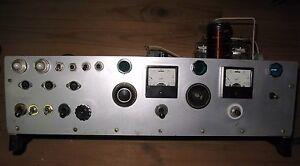 Tube Ham Radio Transmitter Transceiver Receiver Gk 71 Gu 50 6p14p 6n2p Ebay