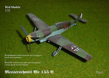 Messerschmitt Me 155 B       1/72 Bird Models Resinbausatz / resin kit