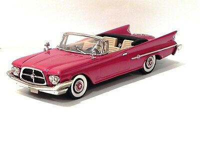 CONQUEST 1960 CHRYSLER 300F 2D CONVERTIBLE Red CON 53x