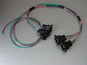 details about 85 95 tpi lt1 camaro corvette fuel injector connector wiring harness assembly lh 1995 LT1 Wiring Harness