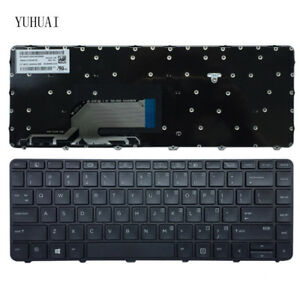 Original-New-Fit-HP-Probook-430-G3-440-G3-445-G3-US-black-keyboard-With-Frame