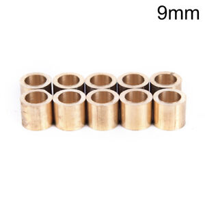 5pcs billiards snooker copper ferrule brass snooker pool cue ferrules cue repair