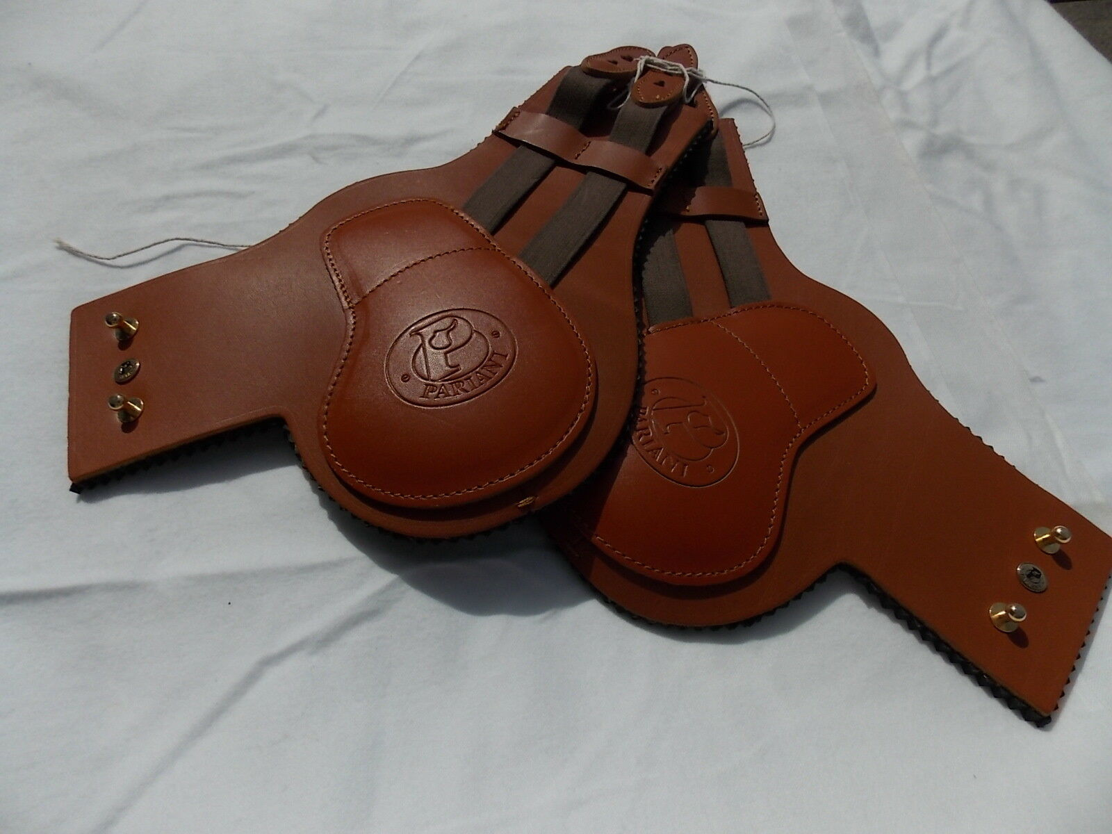NEW  PARIANI COB REAR ANKLE JUMP BOOTS NEOPRENE LEATHER  fashion