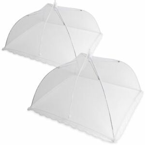 Reusable-Pop-up-Mesh-Screen-Dome-Food-Cover-Tent-Umbrella-Net-BBQ-Table-Fly