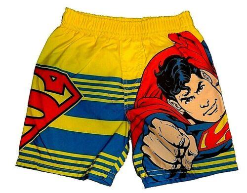 Boys Baby Toddler DC Comics Batman Superman Swim Trunks  NWT