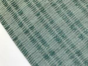 Crate And Barrel Sage Woven Table Runner 14 X 90 New W