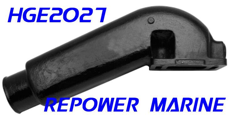Auspuff Heber für Indmar ersetzt V8 8.9cm Auslass ersetzt Indmar 53-2027 Mastercraft Malibu fac63c