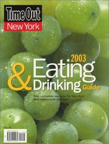 New, New York Eating & Drinking GUI (Time Out), Time Out, Book