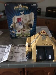 1996 Bandai PYRAMIDAS CARRIER ZORD - MMPR POWER RANGERS ZEO Complete With Box