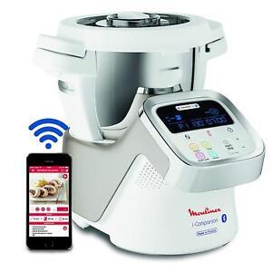 Details About Moulinex I Companion Hf900110 Robot Kitchen Bluetooth 13 Programs 6 People