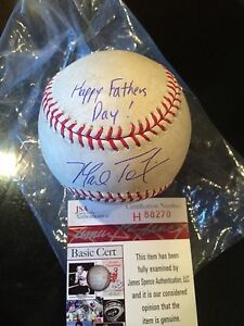 Steiner Mark Teixeira Signed Mlb Baseball W/ 09 Ws Champs Insc. Sports Mem, Cards & Fan Shop