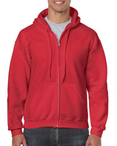 Gildan Zip Hoody Kapuzenjacke Kapuzenpullover Sweatshirt Kapuze Hoodie G18600