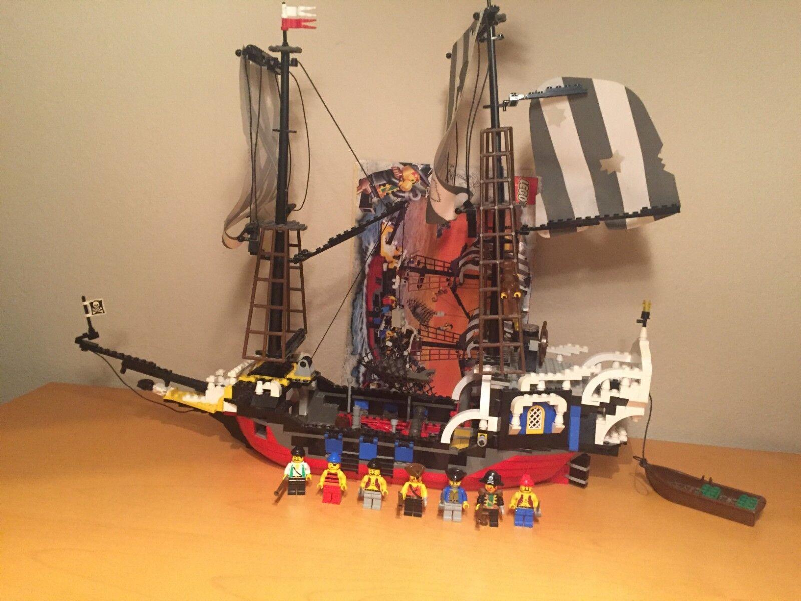 Lego Ange 6290 röd Beard Runner - 100% komplet komplett med ruta