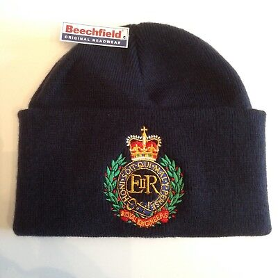 RAMC Beanie British Army Units Woolly Turn Up Hat Royal Army Medical Corps