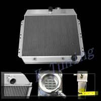 3 Rows/ Cores Aluminum Radiator Fit Chevy Styleline Deluxe V8 1949 50 51 52 54