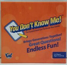 Toys Hobby  Family Kids You Don't Know Me Game Free Shipping
