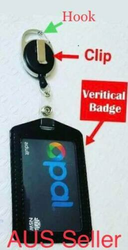 retractable lanyard with Hook id badge opal card holder nurse business security