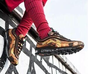 Détails sur Nike Air Max 97 Premium QS Country Camo Pack Italie AJ2614 202 uk 5 eu 38 neuf afficher le titre d'origine