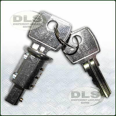 Door Lock Barrel 2 keys Land Rover Series anti-burst and Def Rear Door 395141