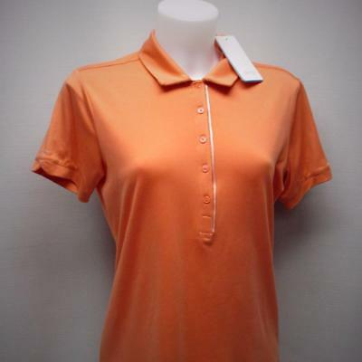 New Ladies Size US 8 MEDIUM PING Elva short sleeve sienna polo golf shirt