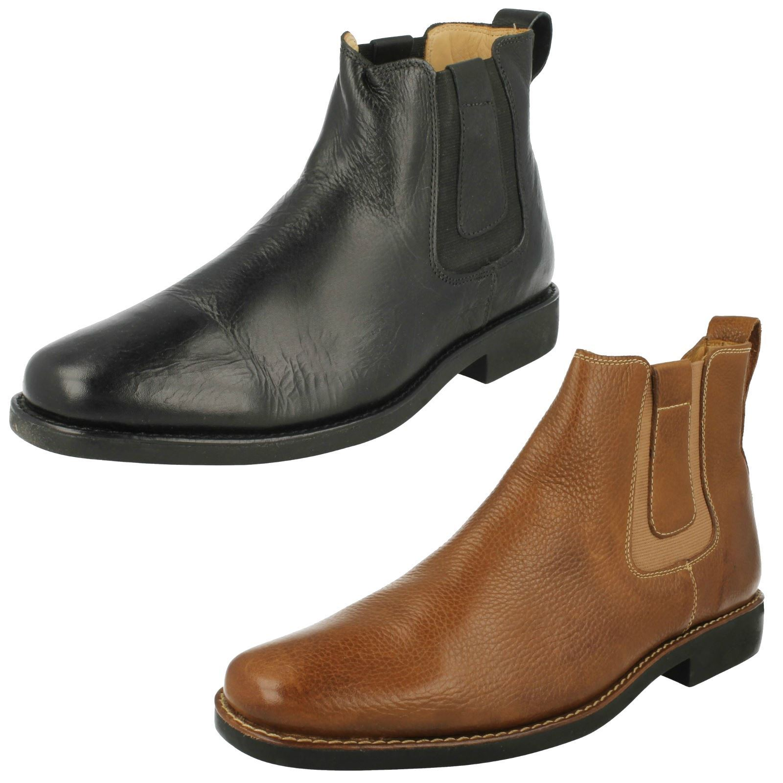Mens Anatomic Leather Ankle Boots - Natal