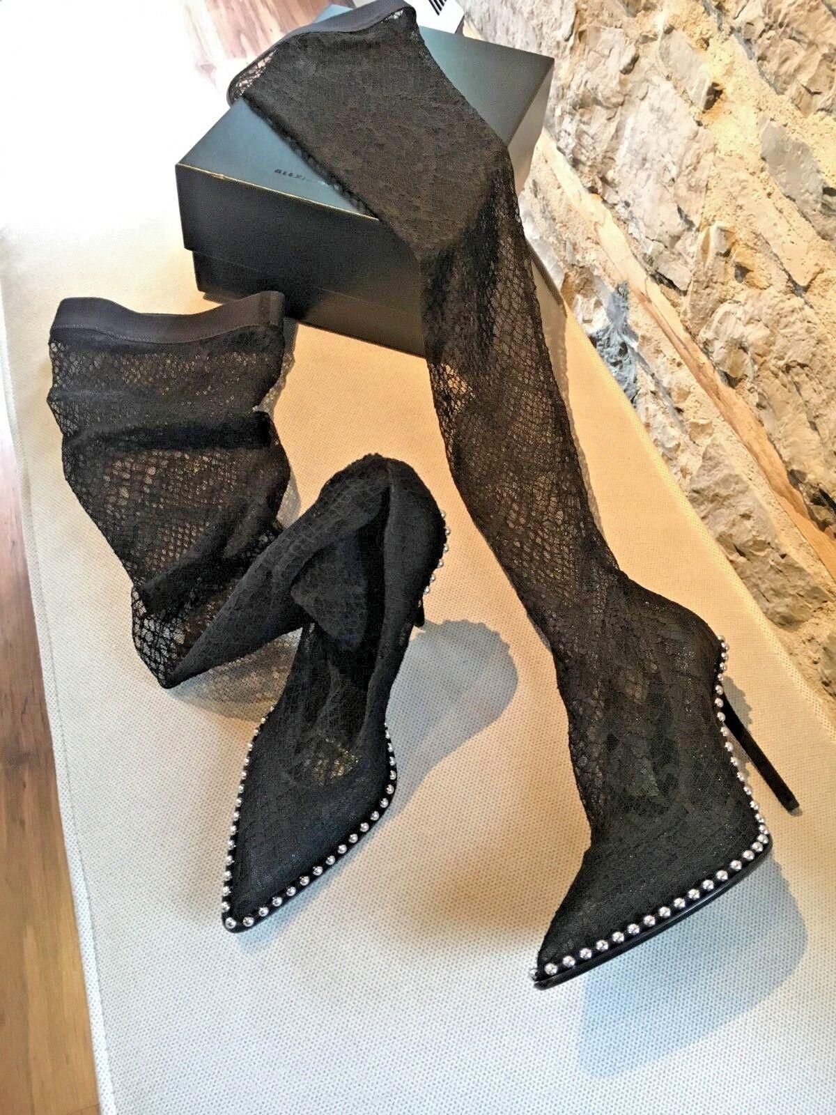 Alexander Wang Mesh Studded Lyra Sock botas - Talla 38