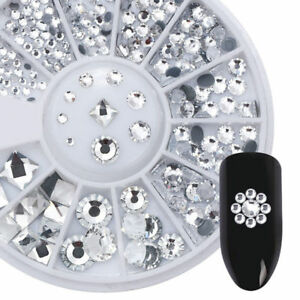 AB-Color-3D-Nail-Art-Decoration-in-Wheel-Nail-Rhinestones-Round-Square-DIY