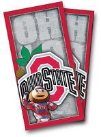 Ohio State Buckeyes Mascot Brutus Cornhole Wrap Set Vinyl Board Decal W Squeegee