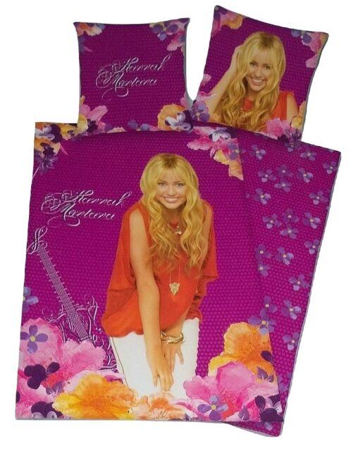 Disney Hannah Montana Bettwäsche Blumen 135x200 Cm Günstig Kaufen Ebay