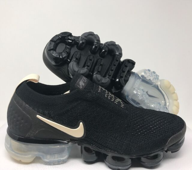 new style c9f2a 105d2 Nike Womens Air Vapormax Flyknit MOC 2 Size 12 Aj6599 002 Black