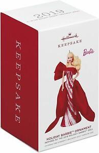 Hallmark-Keepsake-2019-Caucasian-Holiday-Barbie-Christmas-Ornament-New-with-Box