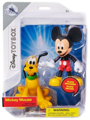 Disney Toybox Mickey Mouse /& Pluto Exclusive Action Figure