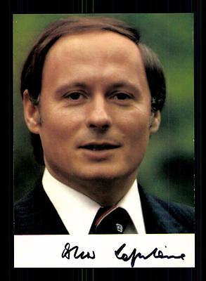 Autogramme & Autographen Gelernt Oskar Lafontaine Autogrammkarte Original Signiert ## Bc 107189 Politik