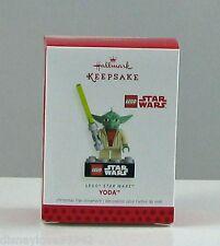 LEGO YODA Star Wars Hallmark CHRISTMAS Ornament Disney