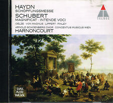 CD album: Haydn - Schubert. Harnoncourt. teldec. A