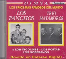 Los Panchos Trio Matamoro Mas Famosos Del Mundo CD New Sealed