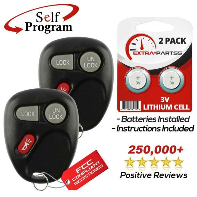 Car Key Fob Alarm Transmitter Remote for 1999 2000 2001 Chevrolet Silverado