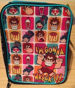 zak-Wreck-It-Ralph-2-Soft-Lunch-box-Lunchbox-Disney-Brand-New