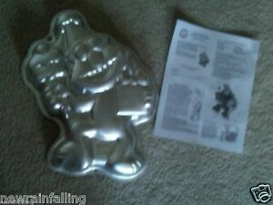 Details About Wilton Wilton Elmo Full Body Cake Pan With Instructions Worldwide Shipping