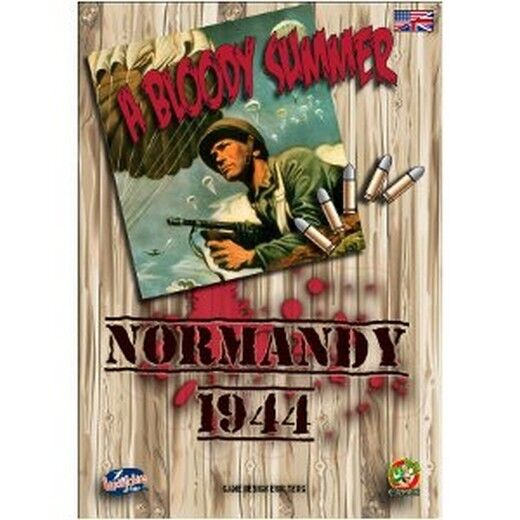 Normandy 1944 Bloody Summer, Wargames, New, English