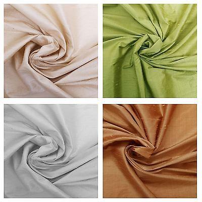"""1M skyblue   handloom Dupion raw silk poylester Fabric 45/"""" Wide"""
