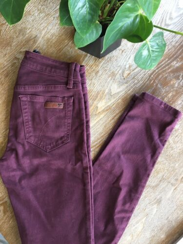 Joe's the Visionaire Bordeaux Skinny 26 Jeans rTc7q7KzxR