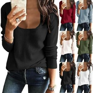 Women-Long-Sleeve-T-Shirt-Blouse-Ladies-Loose-Pullover-Tunic-Tops-Tee-Plus-Size